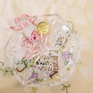 🌹American Rose🌹by Princess House 💎Ring 💍Holde